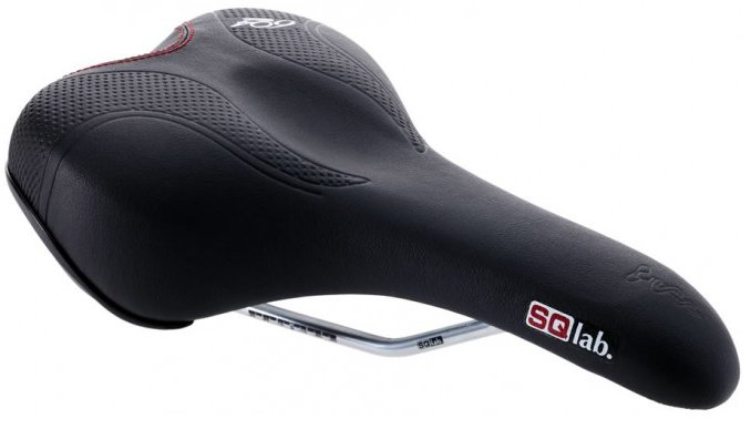 SQlab 604 Trekking Touring Bicycle Saddle