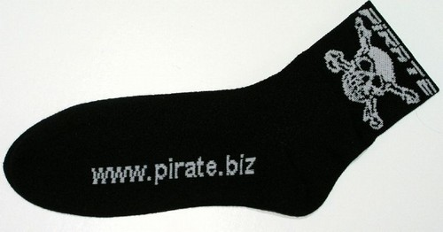 Pirate Team Cycling Socks