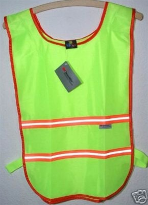 Polyester Mesh Bicycle Safety Vest 3M Scotchlite