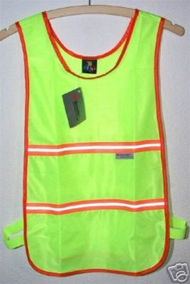 Polyester Jogging Safety Vest 3M Scotchlite