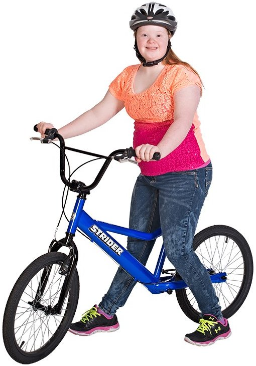 Strider 20 Special Needs Sport No Pedal Balance Bike Black