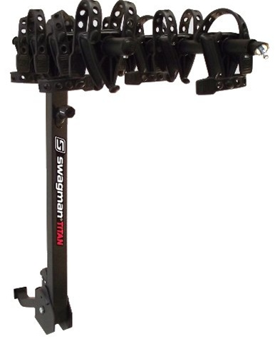 Swagman Titan 4 Bike Two Arm Fold Down Hitch Rack