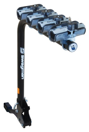 Swagman XP 4 Bike Fold Down Bicycle Hitch Rack Demo