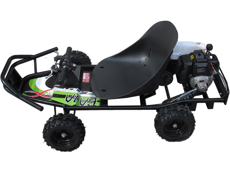 ScooterX Baja Kart 49cc BlackGreen