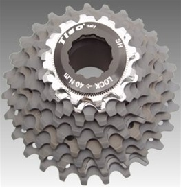 Tiso 10 Speed Hard Anodized Cassette
