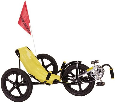 "Trailmate Banana Peel 16"" Teen Recumbent Tricycle"