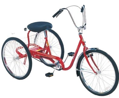 "Trailmate DeSoto 26"" Classic Adult Tricycle"