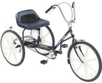 "Trailmate EZ Roll Regal 24"" Wheels Adult Tricycle"