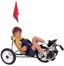 "Trailmate Mini Peel 12"" Kids Recumbent Tricycle"