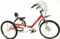 Triaid Special Needs T5 Folding Tricycle
