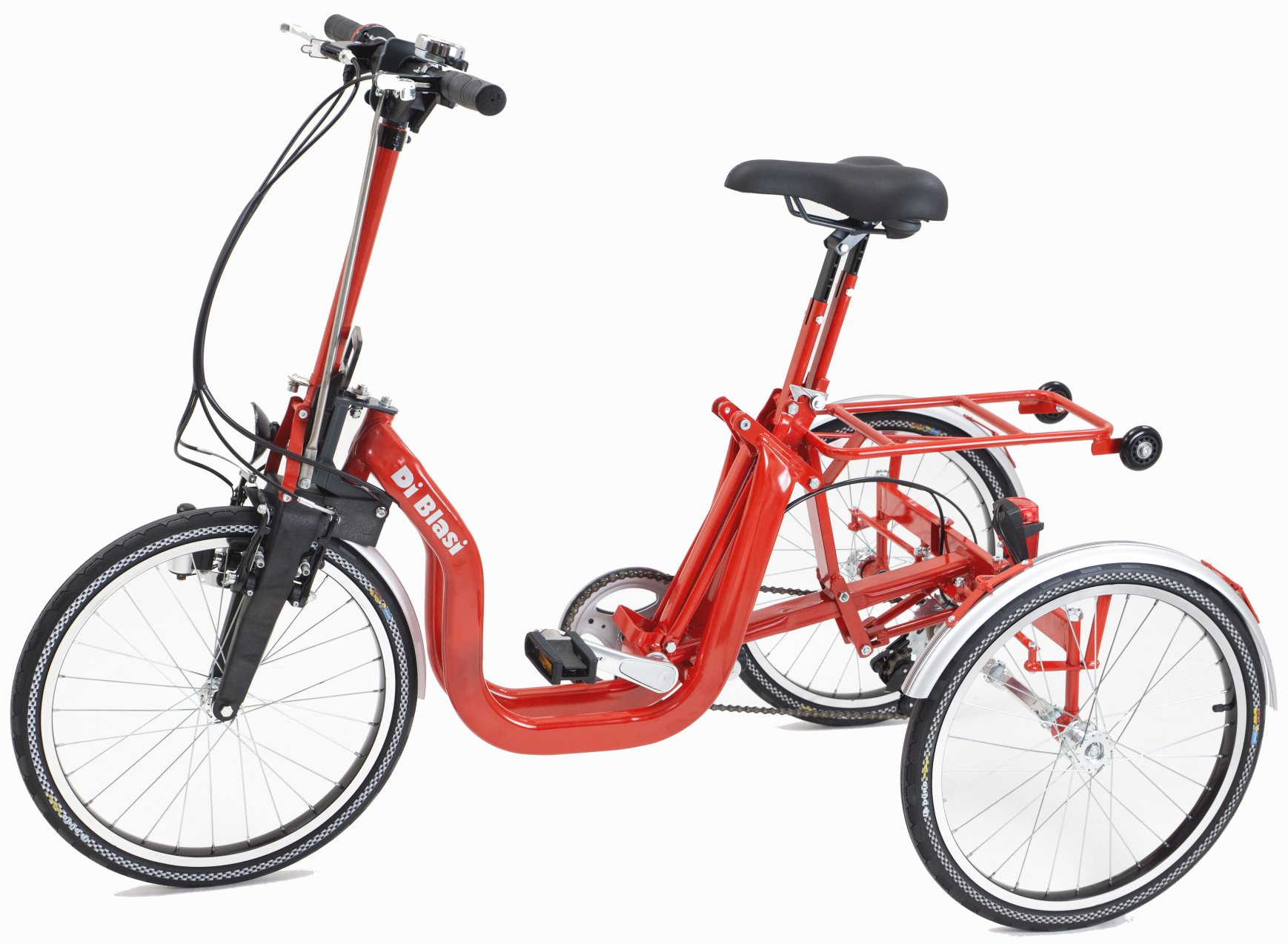 Di Blasi Special Needs R34 Folding Electric Italian Tricycle