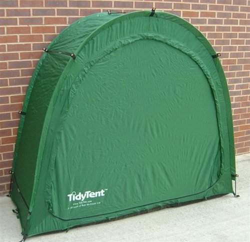 & The Original Tidy Tent Bike Cave Outdoor Bicycle Storage System