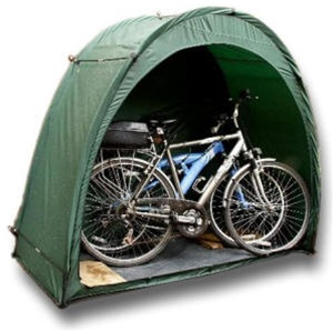 The Original Tidy Tent Bike Cave Outdoor Bicycle Storage System