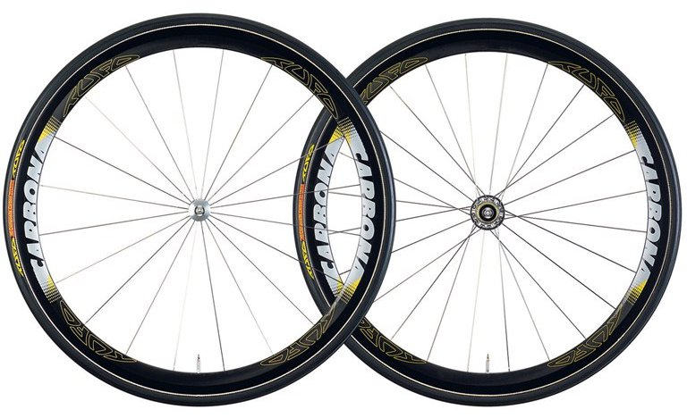 Tufo Carbona Tubular Wheelset with Installed Tires