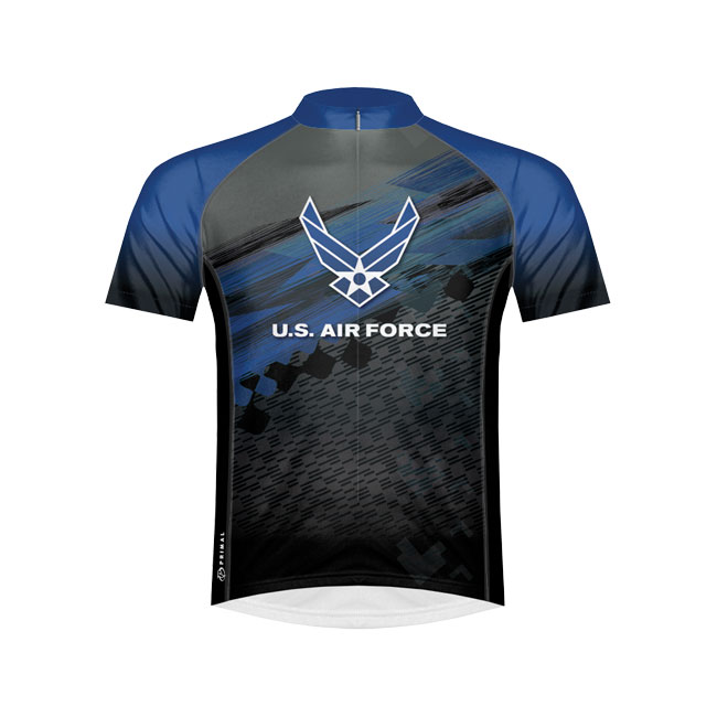 Primal Wear US Air Force Flight Cycling Jersey Large
