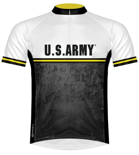 Primal Wear US Army Strength Cycling Jersey Large