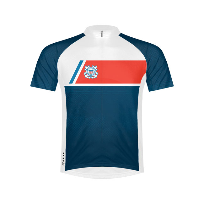 Primal Wear US Coast Guard Navigator Cycling Jersey Large