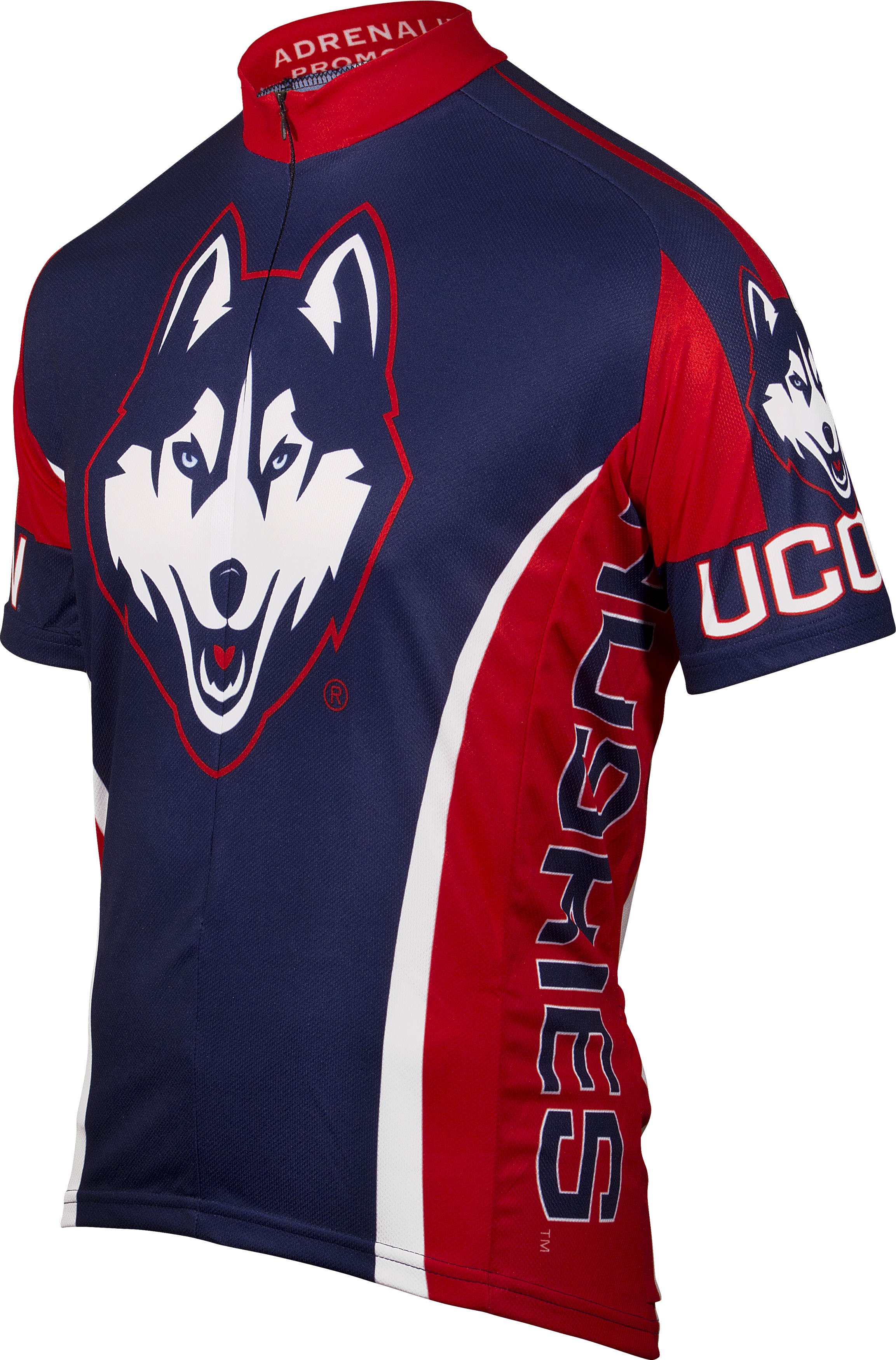 University of Connecticut (UCONN) Cycling Jersey Large