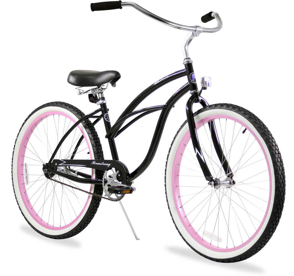 "Firmstrong Womens 26"" Steel Single Speed Urban Limited Cruiser Bicycle"