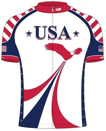 Shift USA Cycling Jersey Small