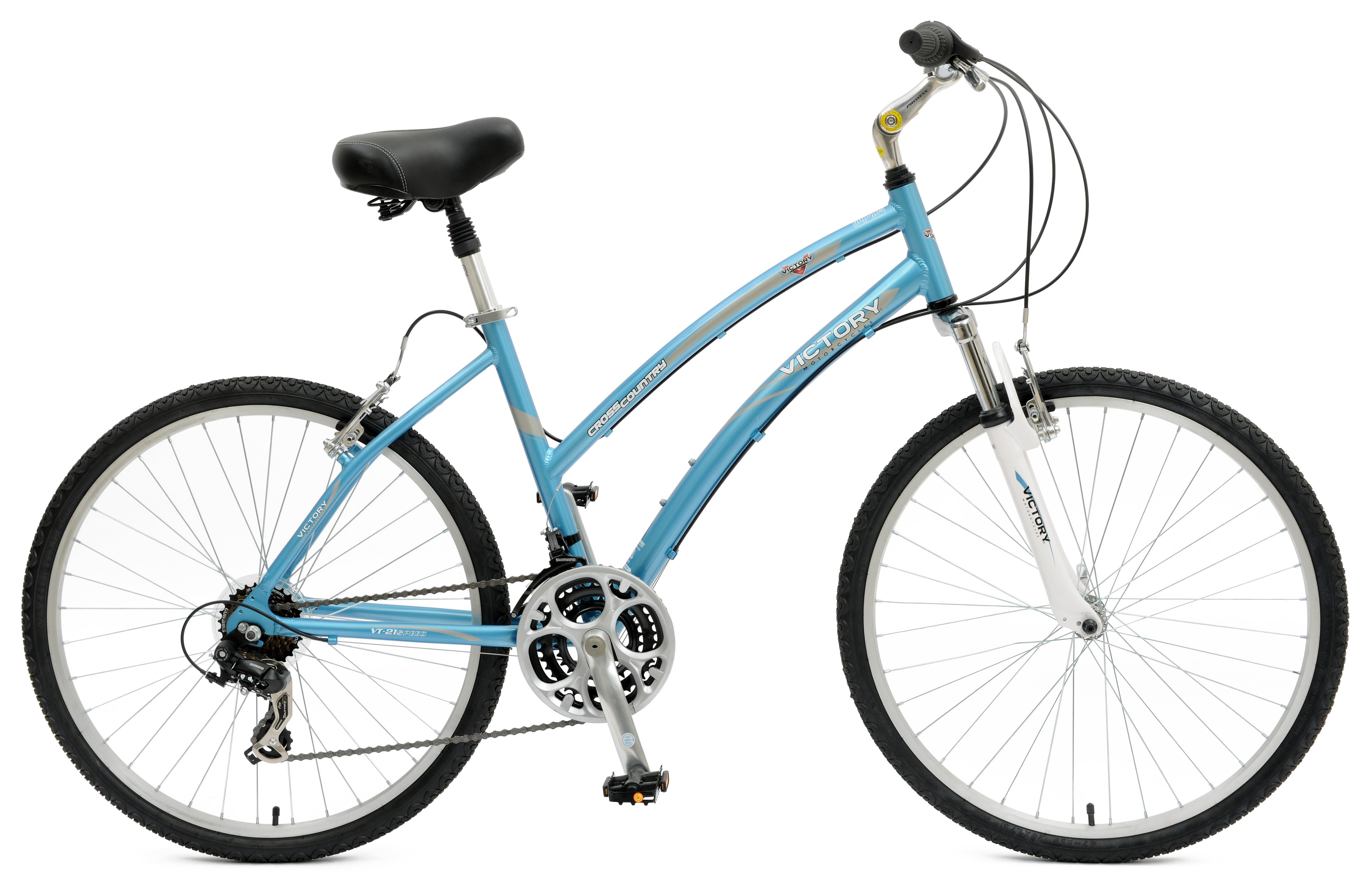 Victory Womens Cross Country 726L Comfort Bicycle