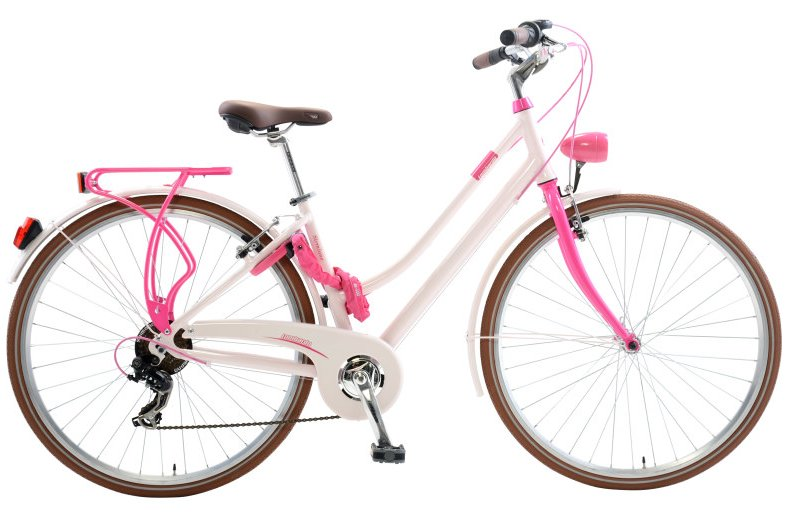 Lombardo Sirmione Women's 6 Speed City Bicycle Handmade in Italy