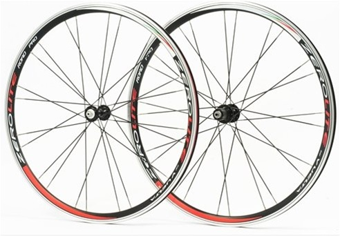 Vuelta ZeroLite 700c Hand Built Pro Alloy Road Bike Wheelset