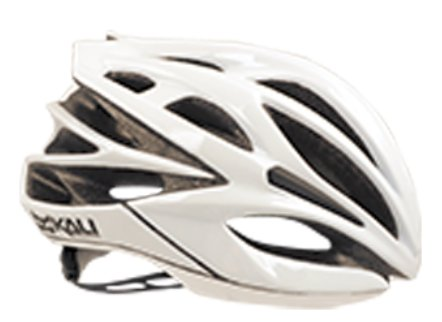 Kali Protectives Loka Sold White Road Helmet