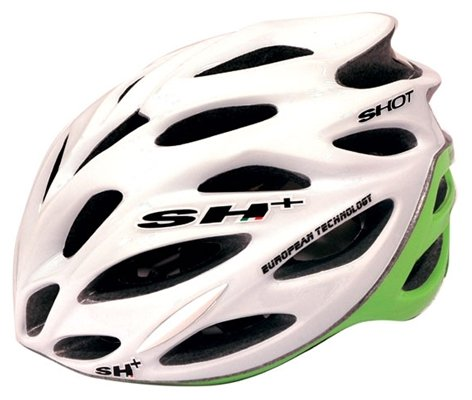 SH+ Shot Bicycle Helmet White/Green