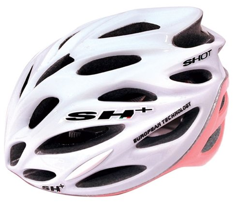 SH Shot Bicycle Helmet WhitePink
