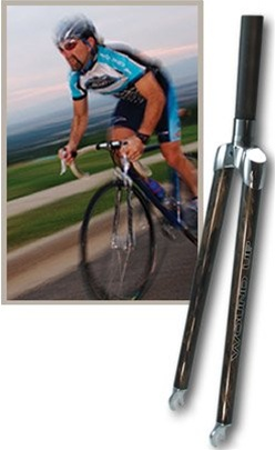 Wound Up Steel Steerer Carbon Road X Threaded Fork 700C