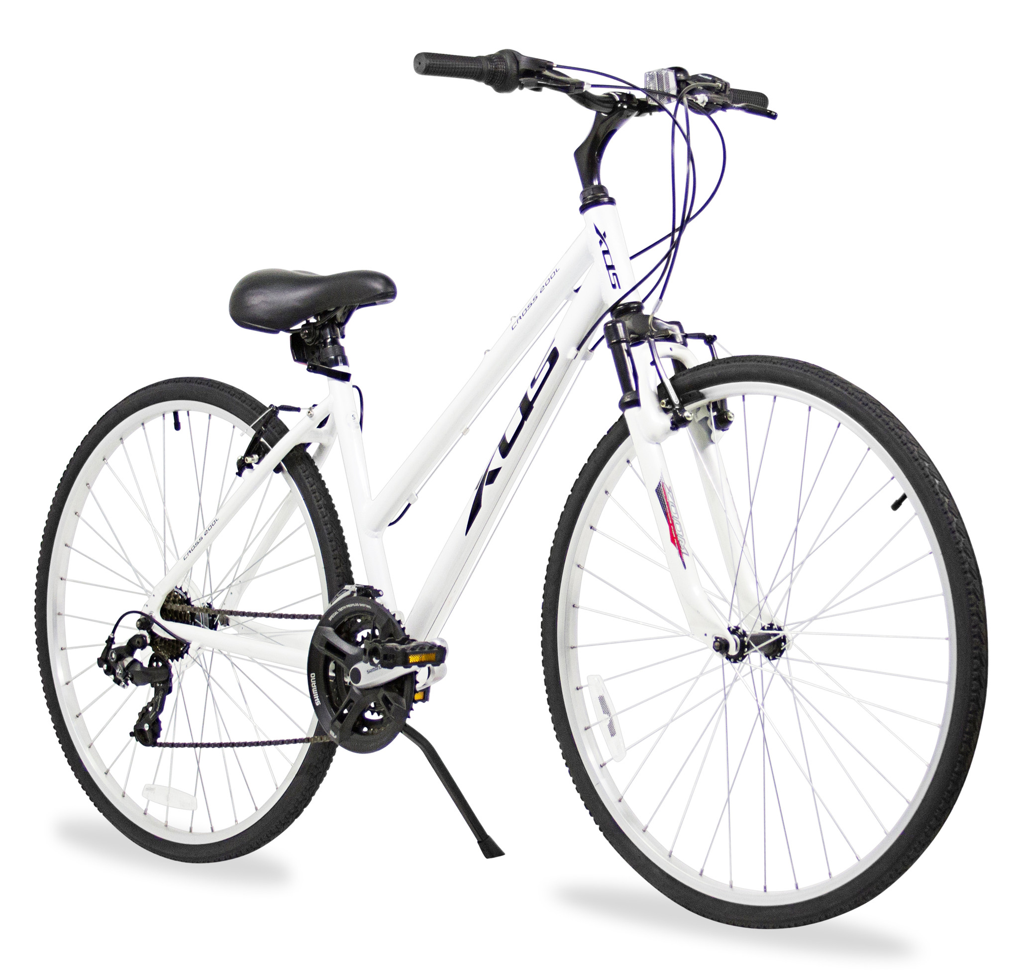 XDS Women's Cross 200 21 Speed Hybrid Suspension Bicycle