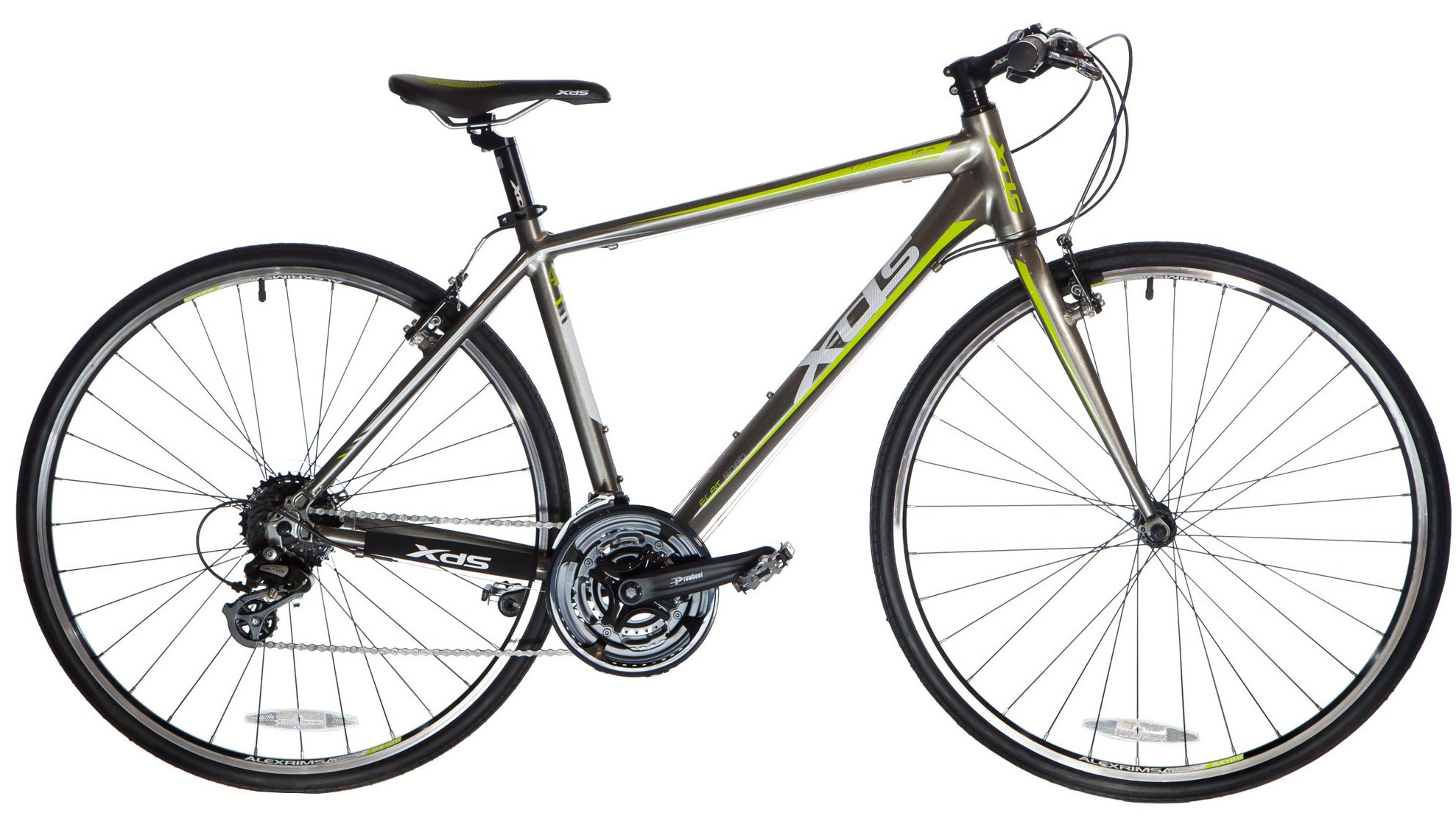 Xds men s t150 pavement hybrid 24 speed bicycle 2016