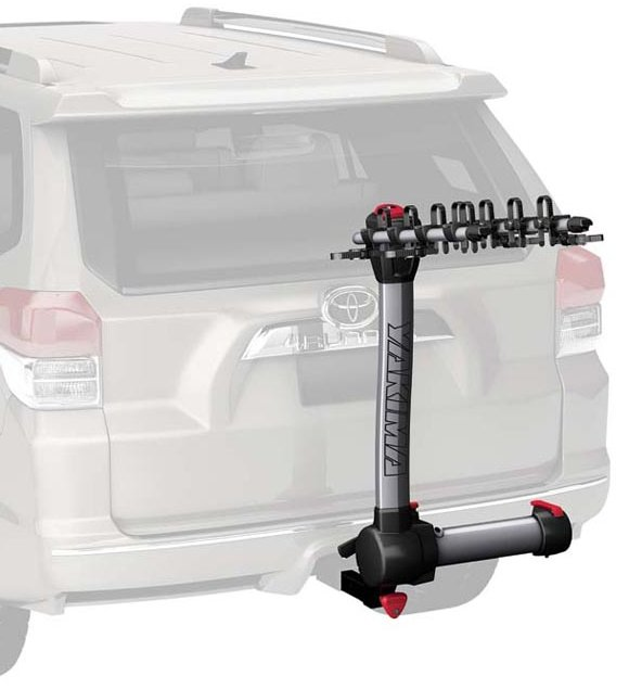 Yakima Swingdaddy 4 Bike Aluminum Hitch Rack