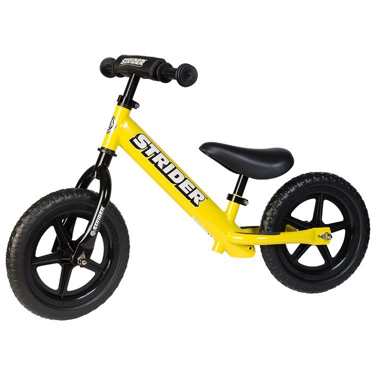 Strider 12 Sport No Pedal Balance Bike Yellow